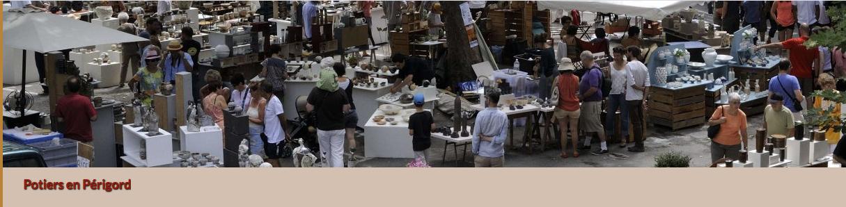 marché de potiers de Limeuil
